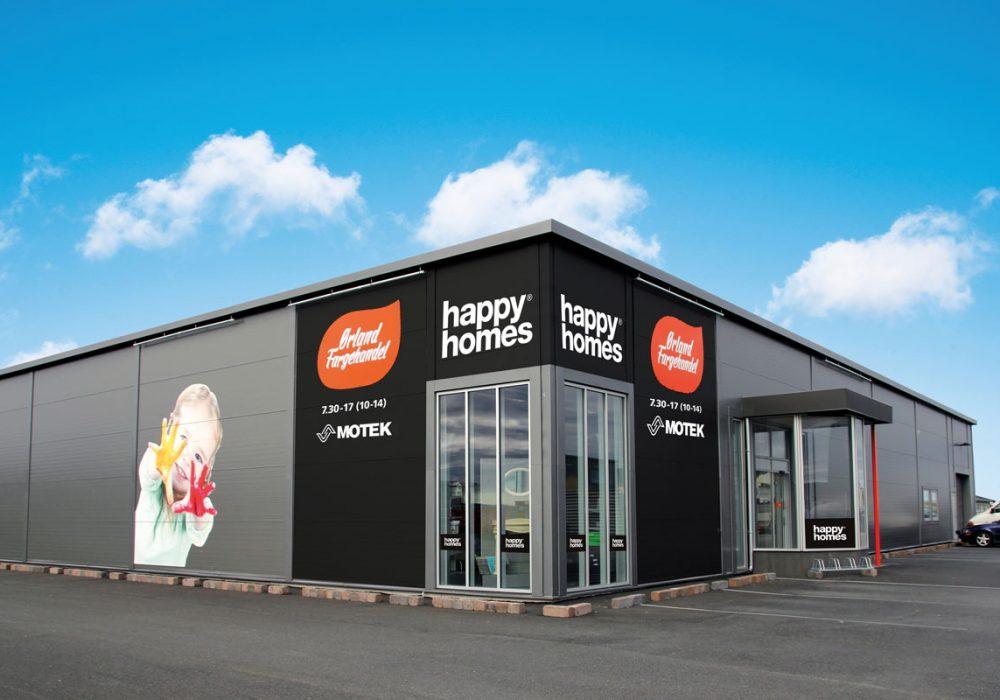 Happy Homes Ørland Fargehandel