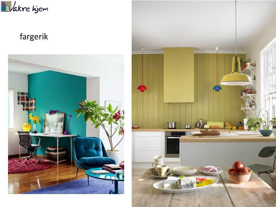 Hvilken interiørstil liker du? Her fargerik stil