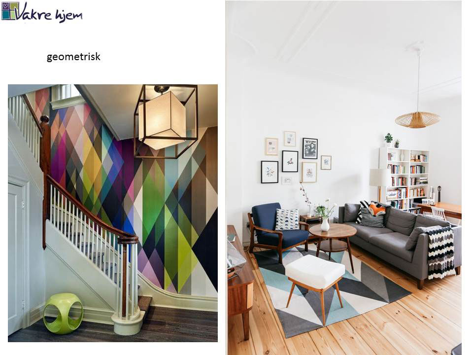 Hvilken interiørstil liker du? Denne her er geometrisk