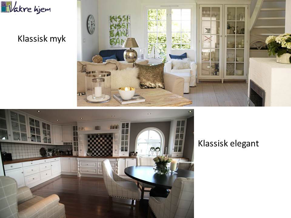 Hvilken interiørstil liker du? Her klassisk interiørstil