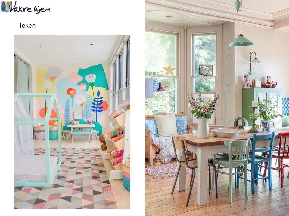 Hvilken interiørstil liker du? Her leken stil