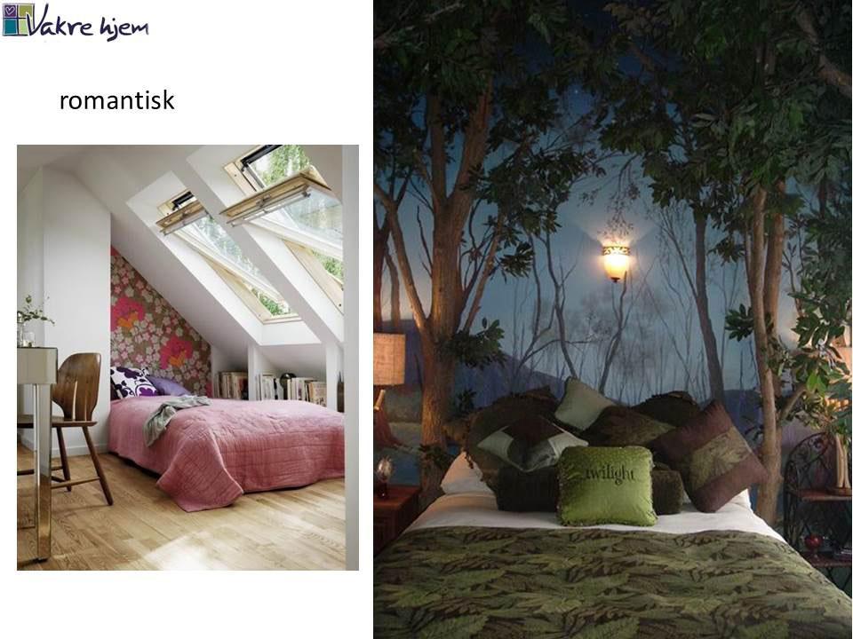 vilken interiørstil liker du? Her romantisk stil