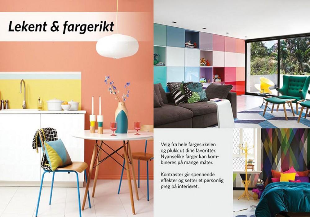Vakre hjem, farge og interiør butikker i norge