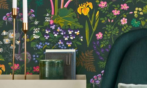 Scandinavisk designers-ny tapetbok fra Borge